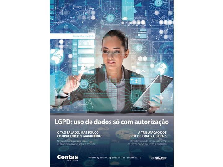 Imagem de Revista Online JFC Abr/Mai-2019 - Lei de Proteção de Dados em Contagem Regressiva