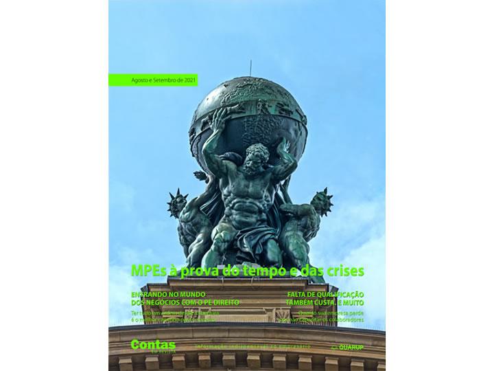 Imagem de Revista Online JFC Ago/Set-2021 - MPEs à prova do tempo e das crises