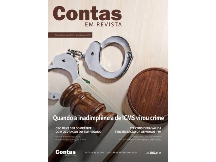 Imagem de Revista Online JFC Dez/Jan/2019 - Quando a inadimplência do ICMS virou crime