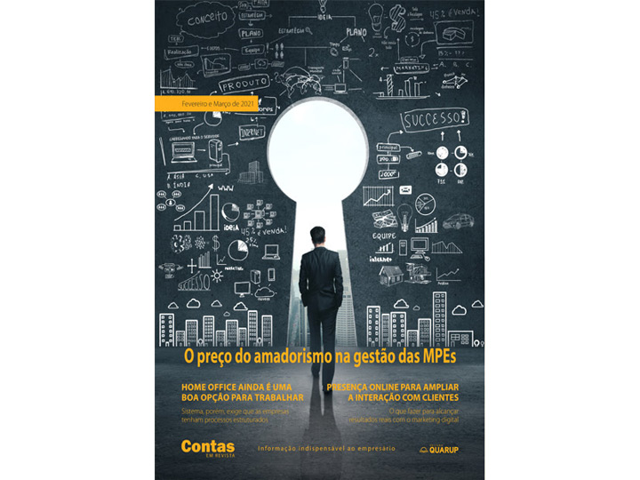 Imagem de Revista Online JFC Fev/Mar-2021 - O preço do amadorismo na gestão das MPEs