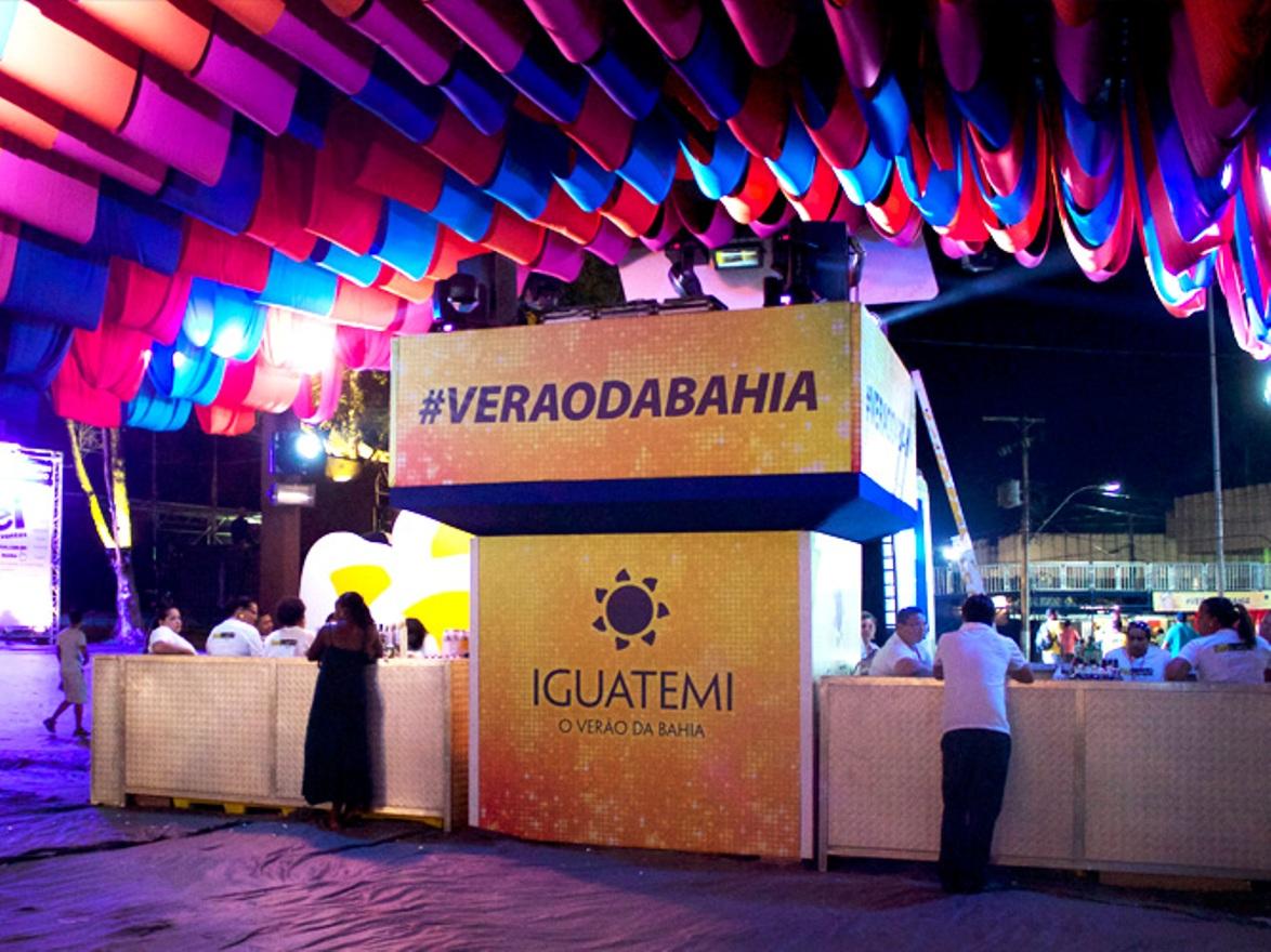 Imagem do projeto Camarote VIP Iguatemi no Festival de Verão 2014