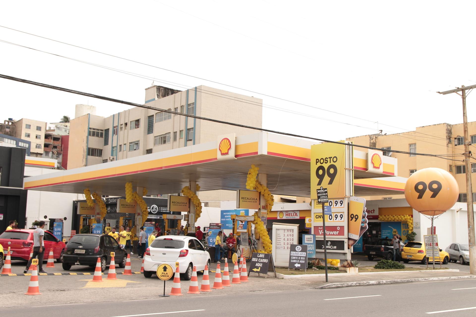Imagem do projeto Posto 99 em Salvador | O motorista saiu ganhando