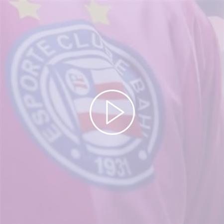 Imagem do vídeo Marcativa e Núcleo da Mama vestem o time do Bahia de rosa