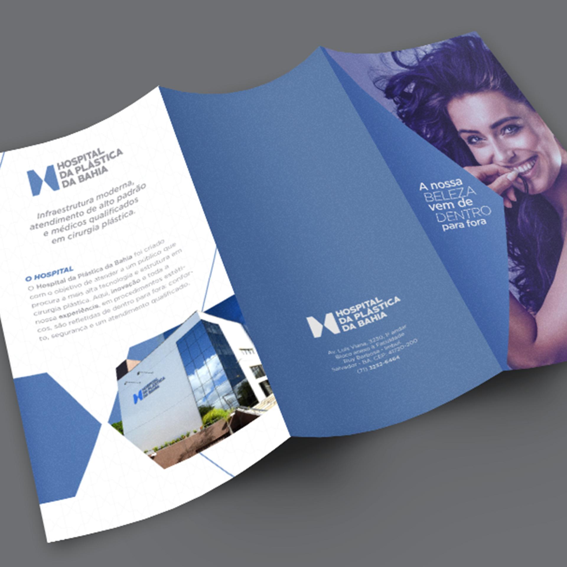 Imagem do projeto Identidade visual do Hospital da Plástica