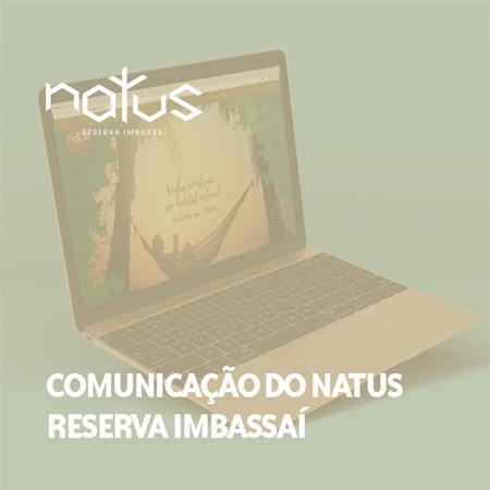 Imagem do projeto Comunicação do Natus Reserva Imbassaí